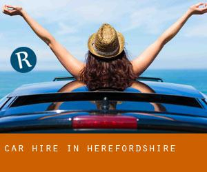 Car Hire in Herefordshire