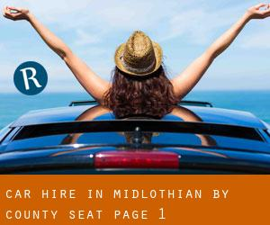 Car Hire in Midlothian by county seat - page 1