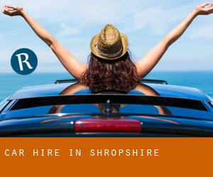 Car Hire in Shropshire