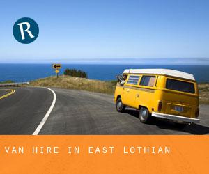 Van Hire in East Lothian
