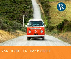 Van Hire in Hampshire