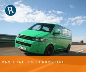 Van Hire in Shropshire