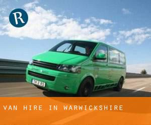 Van Hire in Warwickshire