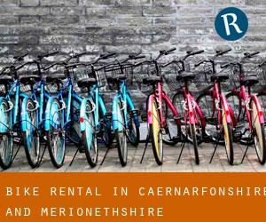 Bike Rental in Caernarfonshire and Merionethshire