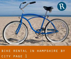 Bike Rental in Hampshire by city - page 1