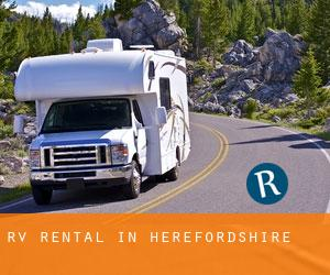 RV Rental in Herefordshire