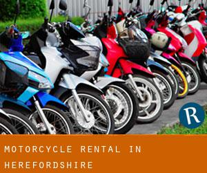 Motorcycle Rental in Herefordshire