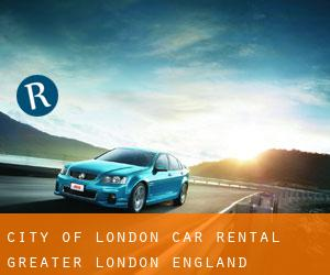 City of London car rental (Greater London, England)