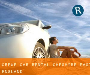 Crewe car rental (Cheshire East, England)