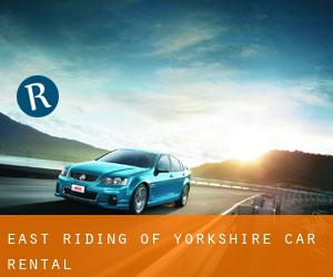 East Riding of Yorkshire car rental
