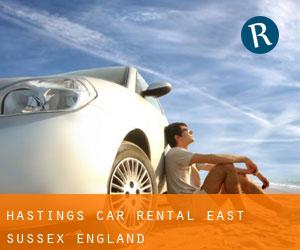 Hastings car rental (East Sussex, England)