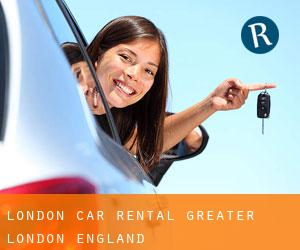 London car rental (Greater London, England)